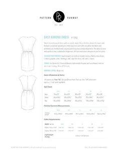 Easy Short Sleeved Kimono Dress | Craftsy