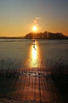 Dutch sunset  Foto A.v.d.Fliet