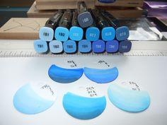 Spectrum Noir Color Confidence pt 3 of 3 Copic Pens, Copic Markers, Copics, Prismacolor, Blending Markers, Color Blending, Digi Stamps Free, Noir Color, Marker Storage
