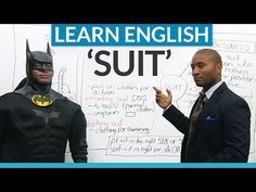 """Idioms and expressions in English with """"SUIT"""" · engVid"""