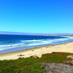 Del Monte Beach is located right off the bike path heading North from Monterey. A beautiful spot for a picnic or beach bonfire.