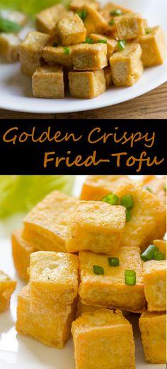 Deep Fried-Tofu Recipe - #recipes #fried #Tofu