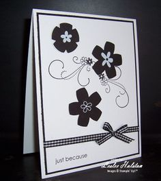CAS06 Inspired Blooms ... simple and classy   Stampin Up - Friendship Blooms