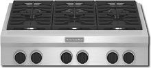 """KitchenAid - 36"""" Built-In Gas Cooktop - Stainless-Steel $2500"""