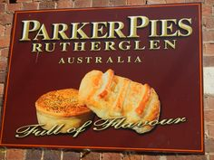 Award winning - Parker Pie Shop - Rutherglen Victoria