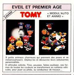 Modul'animo et modul'auto (Tomy) 1988