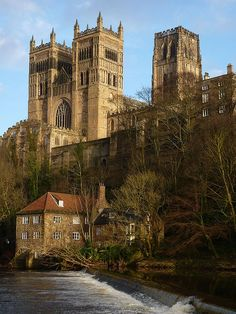Durham Cathedral, The Shrine of St. Cuthbert. Building started in 1093 and was largely completed within 40 years.