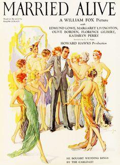 Vintage movie posters.