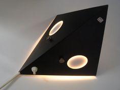 Raak wandlamp jaren 50-60
