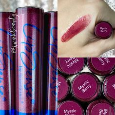 Independent Distributor, Dark Lips, After Dark, Collages, Iridescent, Mystic, Color Pop, Berry, Tube