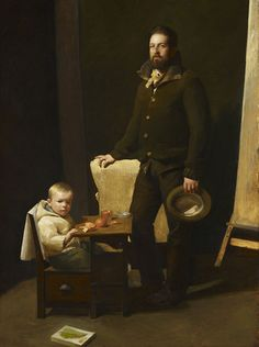 Father and Son by Kelly Carmody, 2015