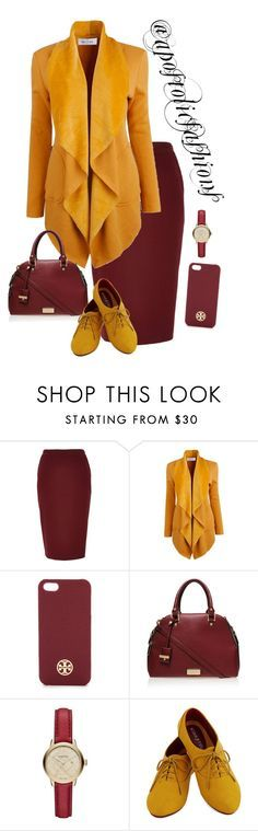 """Apostolic Fashions #1465"" by apostolicfashions on Polyvore featuring River Island, Tory Burch, Carvela Kurt Geiger, Burberry, modestlykay and modestlywhit"