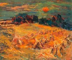 Cornfields by William MacTaggart (Scottish 1903-1981)