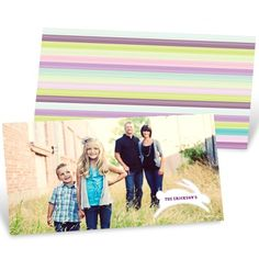 Easter Greeting Cards -- Hopping Stripes #eastercardideas #easterideas #spring #peartreegreetings
