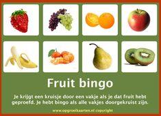 Fruit eten kan ook leuk zijn! Nu Gijs er nog van overtuigen.