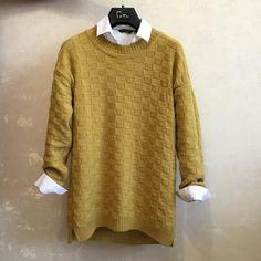 Пуловер из мериноса.