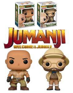 Funko POP! Movies Jumanji Bundle (2 POPs) - New, Mint. #Funko #FunkoPop #Jumanji #Collectibles