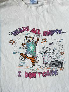 Grateful Dead T Shirt ...  Lot Tee ... Calvin & Hobbes ...