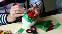 Easter Workshop - Warsztaty Wielkanocne Egg Crafts, Easter Crafts, Christmas Bulbs, Christmas Ideas, Egg Decorating, Easter Eggs, Workshop, Ribbon, Chicken