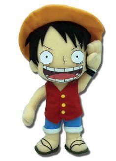 One Piece Plush: Luffy (10 in)