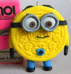Minion minions despicable me Oreo