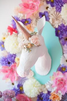 Whimsical Unicorn themed birthday party via Kara's Party Ideas | KarasPartyIdeas.com #whimsicalunicornparty (33)