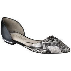 Women's Sam & Libby Heidi D'Orsay Two-Piece Flats - Assorted Colors