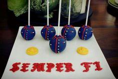 Marine cake pops