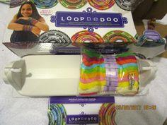 LOOPDEDOO SPINNING LOOM FRIENDSHIP BRACELET MAKING KIT NEW IN BOX