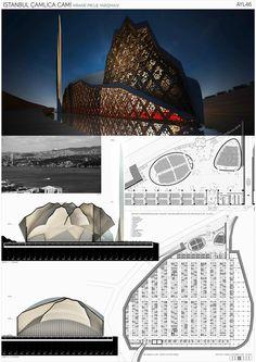 Çamlıca Cami Projesi Yarışması Mosque Architecture, Architecture Concept Drawings, Post Modern, Postmodernism, Louvre, Sculpture, Building, Design, Buildings