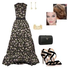 """""""Untitled #8618"""" by gracebeckett on Polyvore featuring Alexander McQueen, Jimmy Choo, Prada, Paloma Picasso and Georg Jensen"""