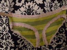 Making your own pattern for panties that fit well and then making your own panties.
