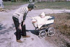 Barn i barnevogn 1972.