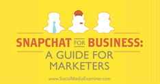 Have you heard of Snapchat? Discover how to use Snapchat's features to connect with your customers.