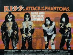 British quad for KISS Meets the Phantom of the Park