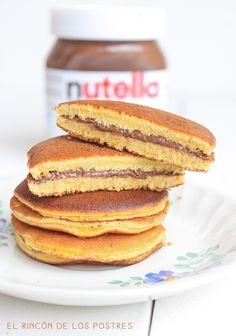Dorayakis de nutella de El rincon de los postres