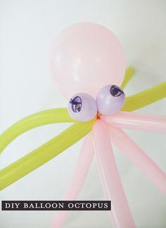 DIY balloon animals