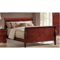 It is classy and elegant and it is our model 2330 Louis Phillipe Sleigh bed with it's beautiful and timeless traditional look.