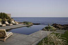 Rocky Ledge Pool - contemporary - pool - boston - LDa Architecture & Interiors