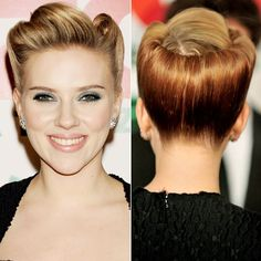 Scarlett Johansson, 2011    WHY WE LOVE IT: Johansson channeled her inner pin-up girl with rolled up curls.