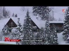 Gourette station bloquée par la neige