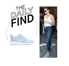 """""""Daily Find: Nike Roshe One Flyknit Sneakers"""" by polyvore-editorial ❤ liked on Polyvore featuring NIKE and DailyFind"""