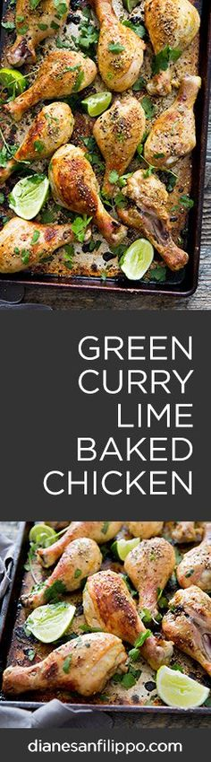 Green Curry & Lime Chicken (Paleo, Gluten-Free & Low-Carb/Keto friendly) | Diane Sanfilippo