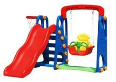 New Childrens Toddler Slide & Swing Multi Set With Basketball Hoop & Ball Age 2+ Childs outdoor/indoor slide Other http://www.amazon.co.uk/dp/B00E27FNAE/ref=cm_sw_r_pi_dp_Uv8Gub0BW48A1
