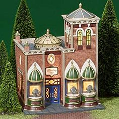 """Department 56: Products - """"Sterling Jewelers"""" - View Lighted Buildings wish list"""