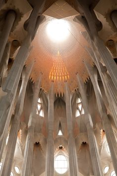 La Sagrada Familia in Barcelona, Spain...  The more u c it, the more it shines