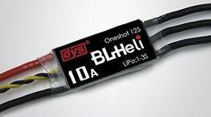 DYS 10A Mini ESC w/BLHeli Firmware DYS-XM10A