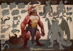 Fantasy Dragon, Dragon Art, Fantasy Art, Dnd Characters, Fantasy Characters, Humanoid Dragon, Dnd Dragonborn, Anthro Dragon, Dnd Art
