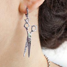 Show details for Scissor Earrings