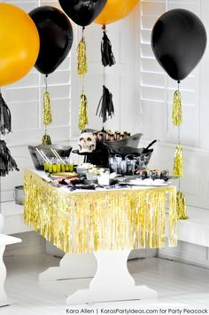 Reusable Halloween Party Kits from Party Peacock- Two Great Designs via KarasPartyIdeas.com